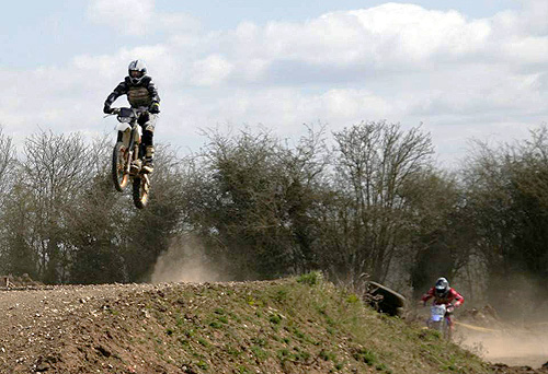 Dirt biking is great photography - clean up afterwards...