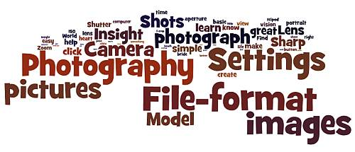 File-formats and settings
