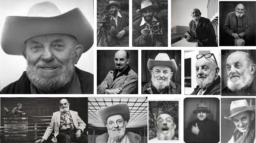 Photo-montage - Portraits of Ansel Adams