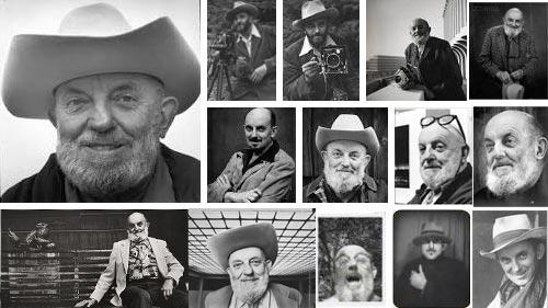 Photo-montage - Portraits of Ansel Adams