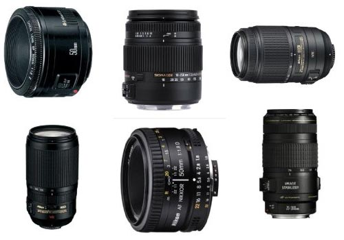 A range of Lenses - get the lens quiz answers here