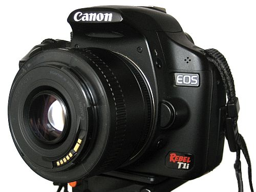 Canon Reversed Lens