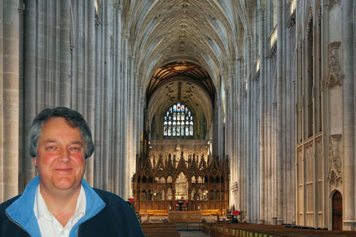 • Winchester Cathedral Chroma key image•