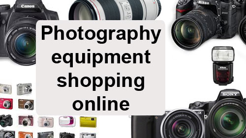 Photography Equipment Shopping Online