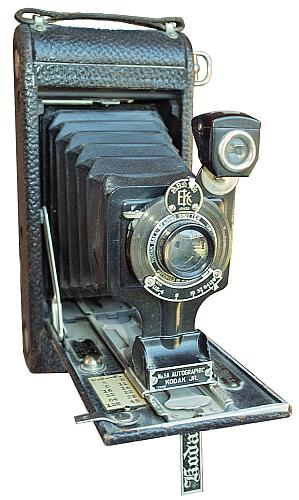 Autographic Folding Bellows Camera from Kodak