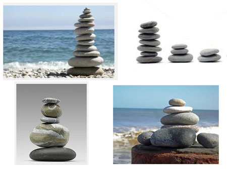 Pebble Stacks On Google