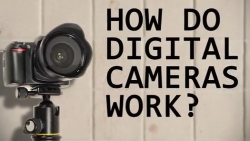 How Digital Cameras Work?