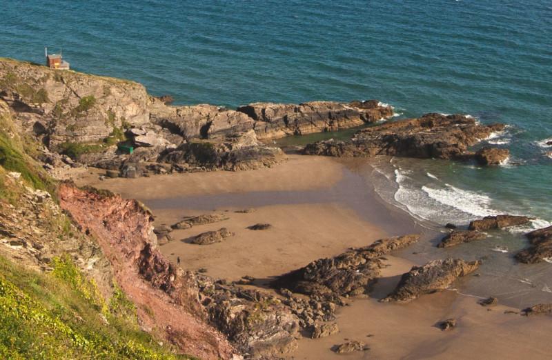 • Cornish beach view •