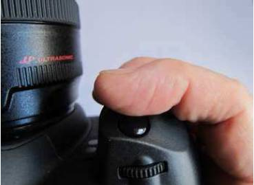 Roll your finger onto the shutter release button - maintain your photography stance.