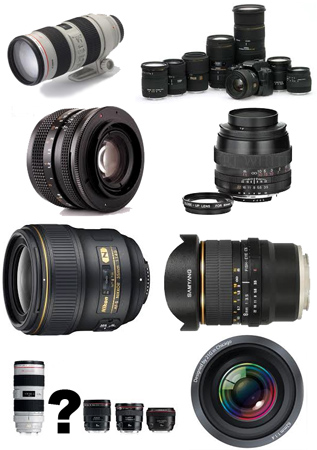 Finding lenses | A wide range of lenses makes choice difficult