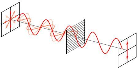 Polarising Filtration Diagram
