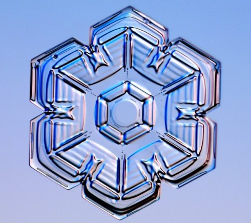 Snowflakes are intricate and beautiful.