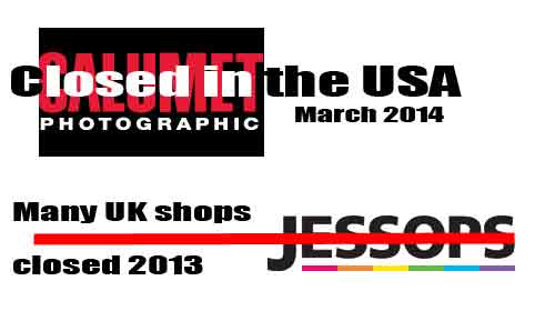 Retail photography - the business is changing.