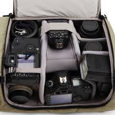 Buy a good quality photographers bag to protect your equipment.