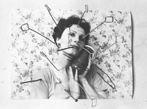 Karin Mack, Zersto¨rung einer Illusion, 1977© Karin Mack